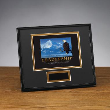 Leadership Eagle Framed Award