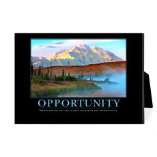 New Products - Opportunity Mountain Fog Desktop Print