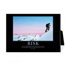 New Products - Risk Mountain Climber Desktop Print