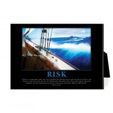 New Products - Risk Sailboat Desktop Print