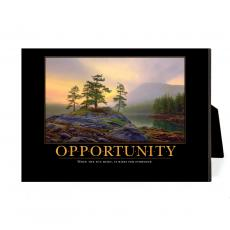 New Products - Opportunity Mountain Lake Desktop Print