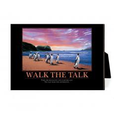 New Products - Walk the Talk Penguins Desktop Print