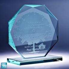 Glass Trophies - Octavia Tree Service Award