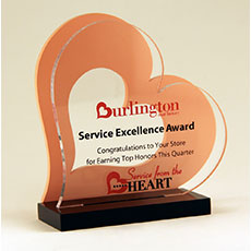 Burlington Coat Factory Service Excellence Award