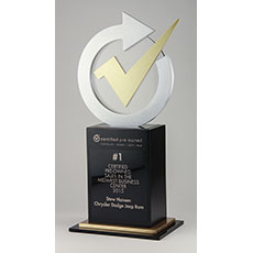 Chrysler Certified Pre-Owned Sales Award