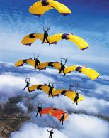 Framed Prints & Gifts - Parachute Formation