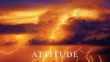 Framed Prints & Gifts - Attitude Lightning with Text