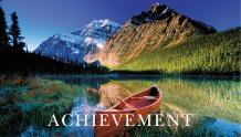 Framed Prints & Gifts - Spirit of Achievement with Text
