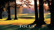 Framed Prints & Gifts - Focus Golf with Text