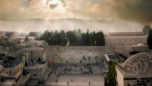 Framed Prints & Gifts - Sunrise Over The Western Wall