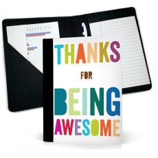 Thank You Gifts - Thanks For Being Awesome Jr. Padfolio