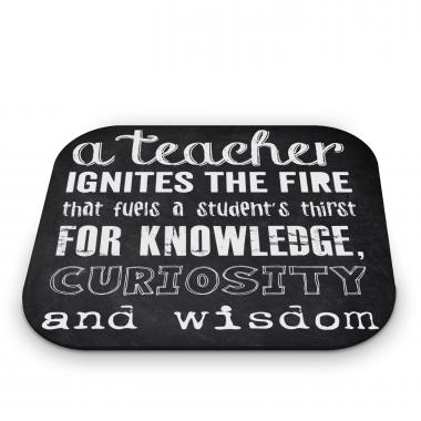 Teachers Chalkboard Mouse Pad