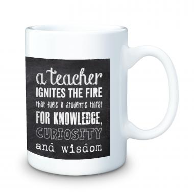 Teachers Chalkboard 15oz Ceramic Mug