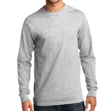 Port & Company® Long Sleeve Essential Pocket Tee
