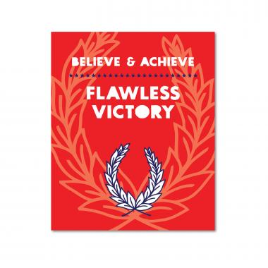 Believe and Achieve Inspirational Art