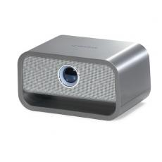Phone Accessories - Big Blue<sup>™</sup>;Brookstone<sup>®</sup> - Rechargeable, bluetooth, wireless speaker with 2 drivers and subwoofer