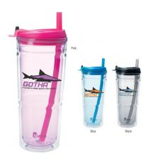 Drinking Glasses - Bubba<sup>®</sup> - 26 oz Tumbler.  Double-wall insulation reduces condensation, keeps drinks cold/hot