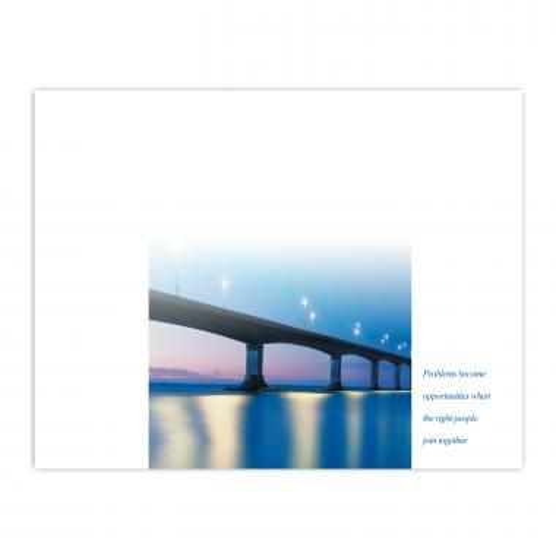 Be The Bridge Certificate Paper