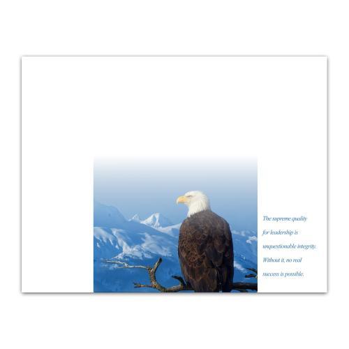 Leadership Eagle Certificate Paper