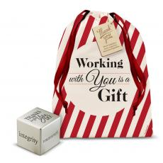 Holiday Gifts - Thanks for All You Do Inspirational Cube Holiday Gift Set