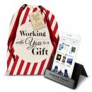 Personalized iPhone Stand Holiday Gift Set