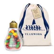 Holiday Gifts - Skittles Light Bulb Holiday Gift Set