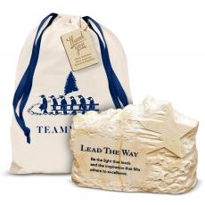 Desk Accessories - Lead the Way Stone Image Paperweight Holiday Gift Set