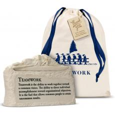 New Products - Teamwork Rowers Stone Image Paperweight Holiday Gift Set