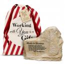 Make It Happen Stone Image Paperweight Holiday Gift Set