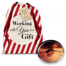 Holiday Gifts - Teamwork Rowers Positive Outlook Paperweight Holiday Gift Set