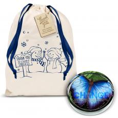 Holiday Gifts - Change Butterfly Positive Outlook Paperweight Holiday Gift Set
