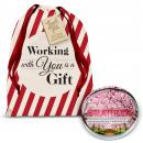 Gratitude Cherry Blossoms Positive Outlook Paperweight Holiday Gift Set