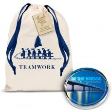Holiday Gifts - Be the Bridge Positive Outlook Paperweight Holiday Gift Set