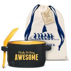 Holiday Gifts - Thanks for Being Awesome Soup Mug Holiday Gift Set