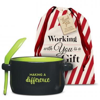 Making a Difference Soup Mug Holiday Gift Set