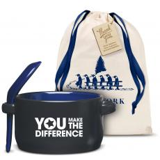 Holiday Gifts - You Make the Difference Blue Soup Mug Holiday Gift Set