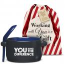 You Make the Difference Blue Soup Mug Holiday Gift Set