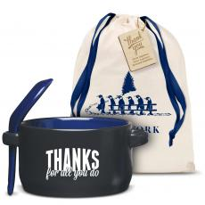 Thanks for All You Do Soup Mug Holiday Gift Set
