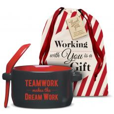 Holiday Gifts - Teamwork Makes the Dream Work Soup Mug Holiday Gift Set