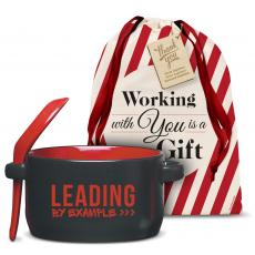 Holiday Gifts - Leading by Example Soup Mug Holiday Gift Set