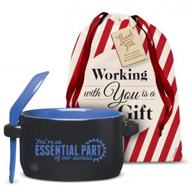 You're An Essential Part Soup Mug Holiday Gift Set