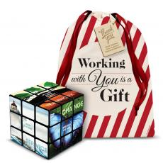 Holiday Gifts - Motivational Rubik's Cube Holiday Gift Set