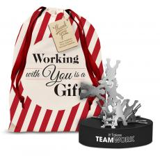 Fun and Games - Teamwork Magnetic Clip Holder Holiday Gift Set