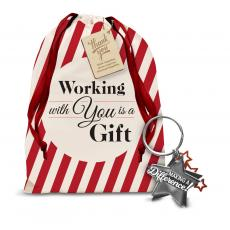 Holiday Gifts - Making a Difference Metal Keychain Holiday Gift Set