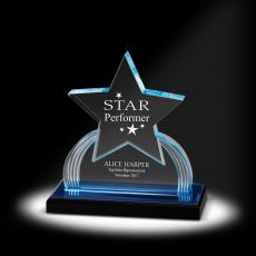 New Products - Star Power Acrylic Award