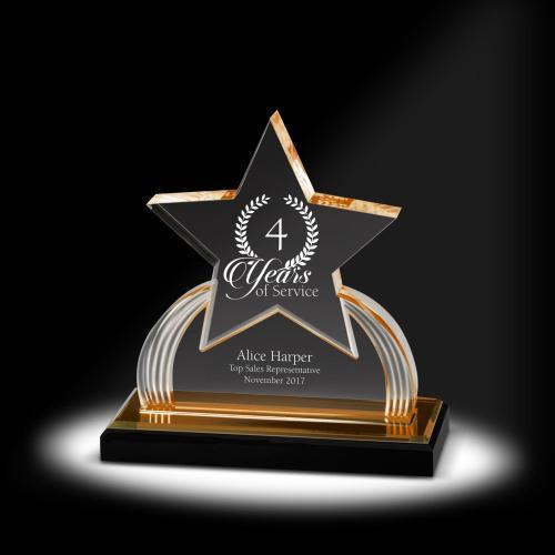 Star Power Acrylic Award
