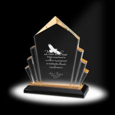 New Products - Mountain of Success Acrylic Award