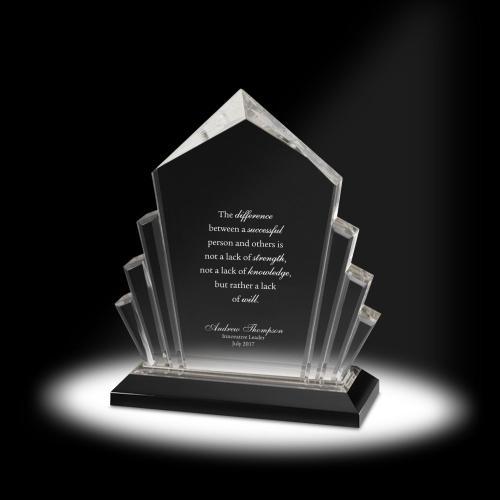 Mountain of Success Acrylic Award