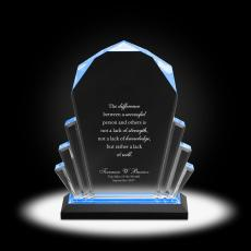 New Awards - Prosperity Peak Acrylic Award