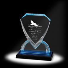 New Awards - Shield Acrylic Award